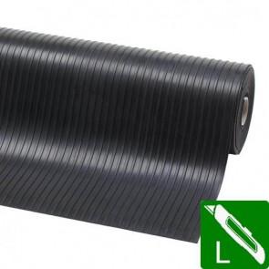 Strepen mat 3 mm SBR 100 / 120 cm
