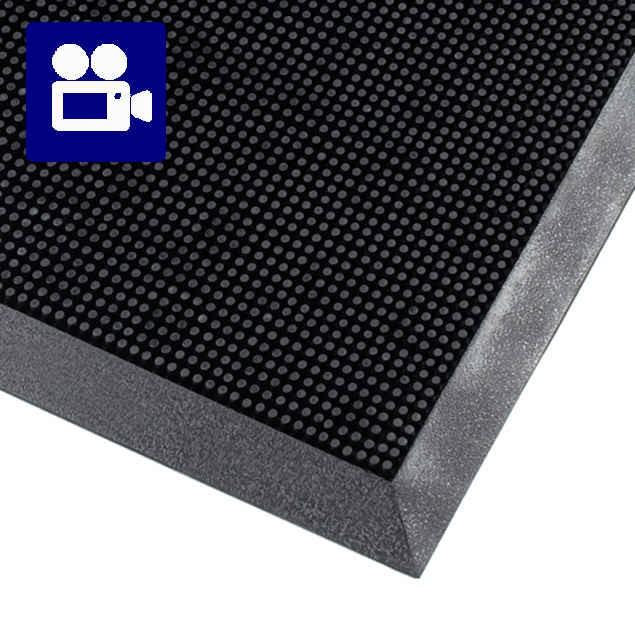 Rubber Tapijt Voor Buiten.Rubber Brush Fingertip Mat